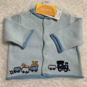 Gymboree Toy Train 🚂 sweater NWT